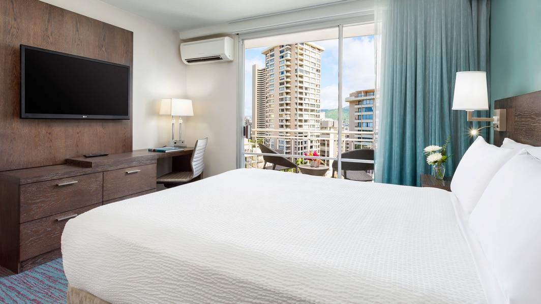 Standard-Gästezimmer in Hotel in Waikiki