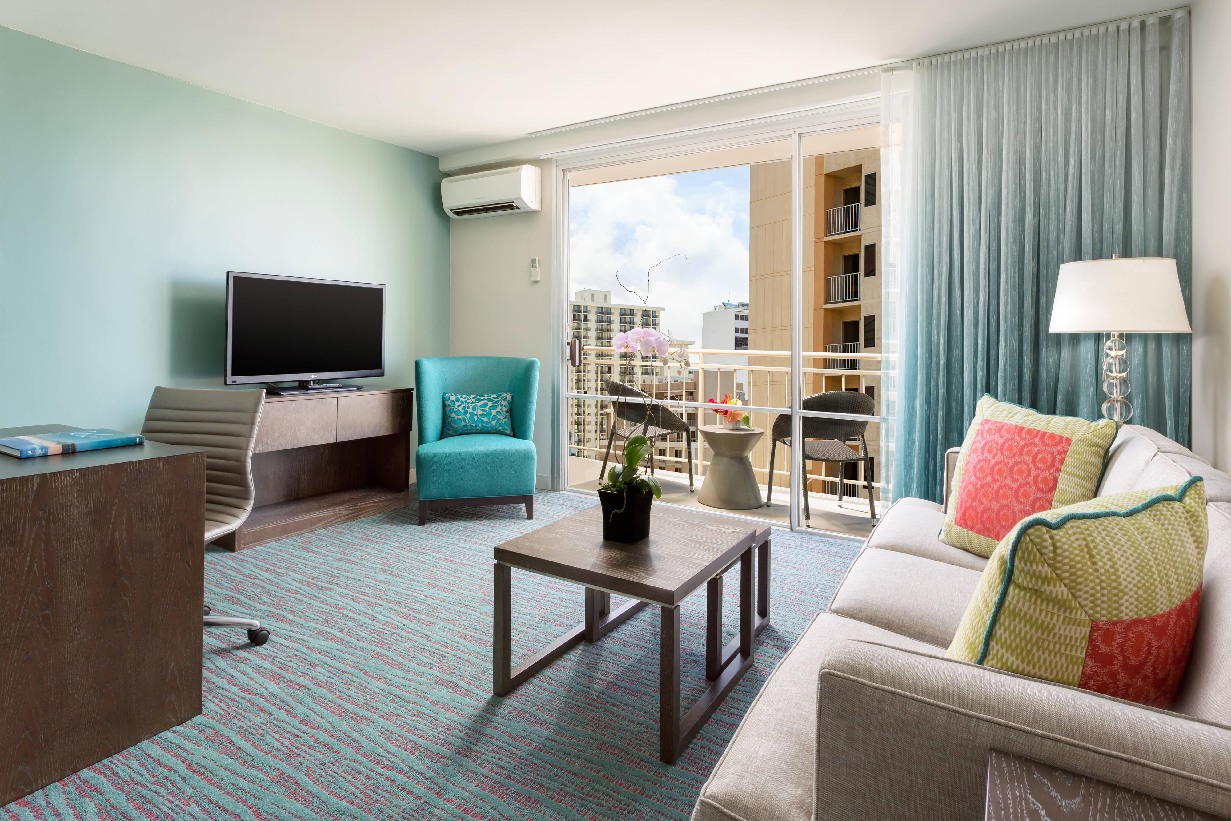 Honolulu One Bedroom Suite