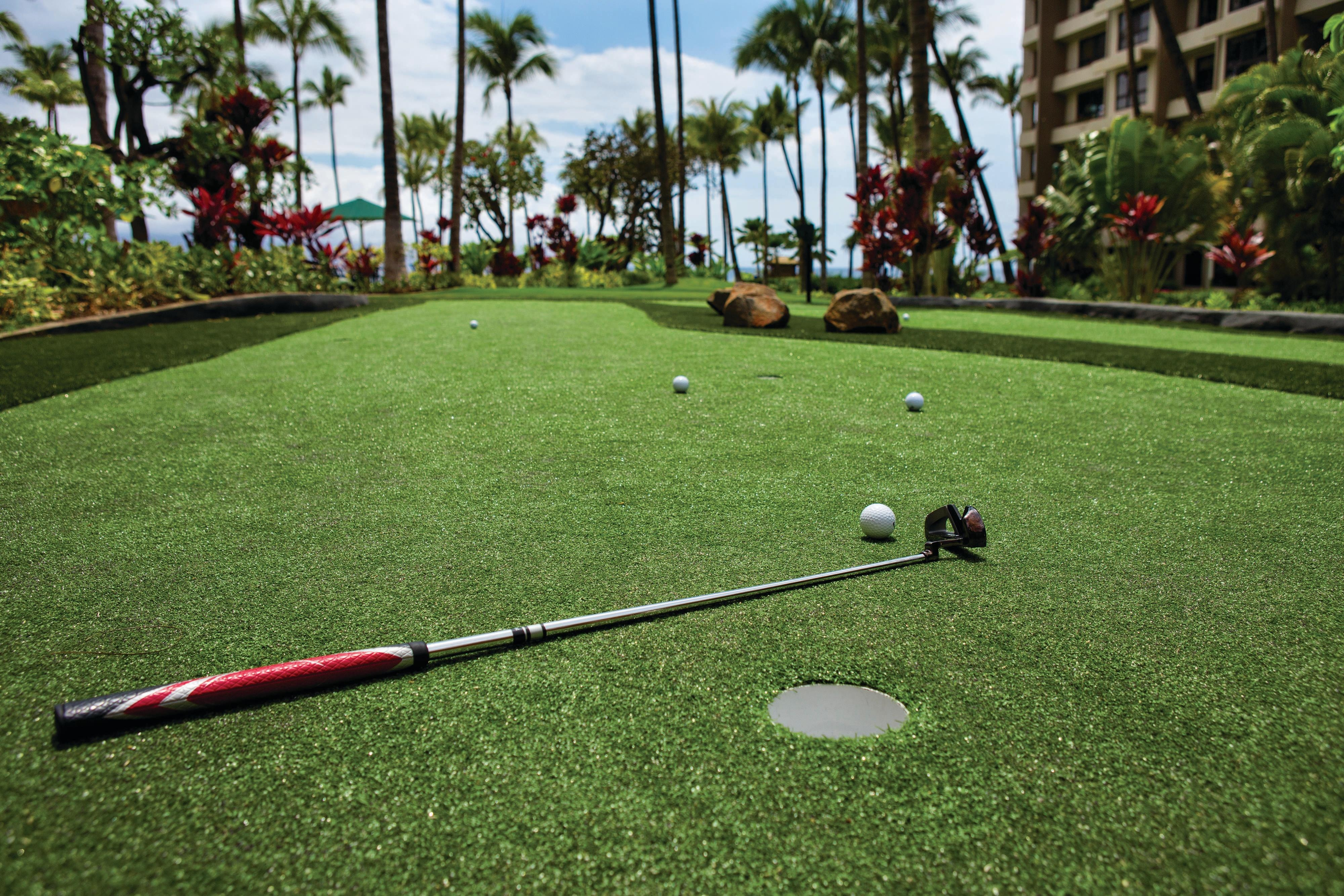Maui Golf Resort's Putting Green