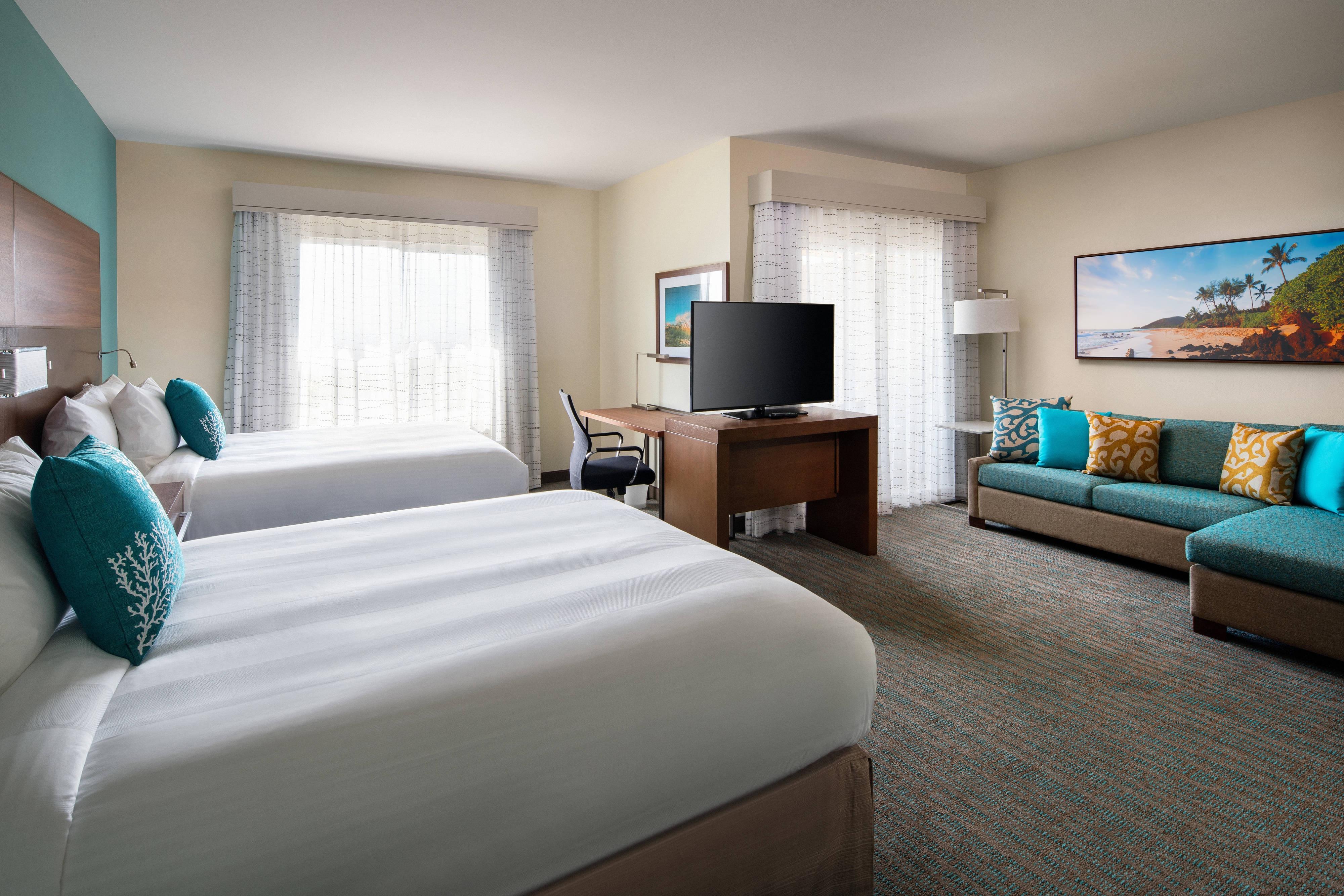 Extended Stay Maui Hotels In Wailea Hawaii Residence Inn Maui Wailea