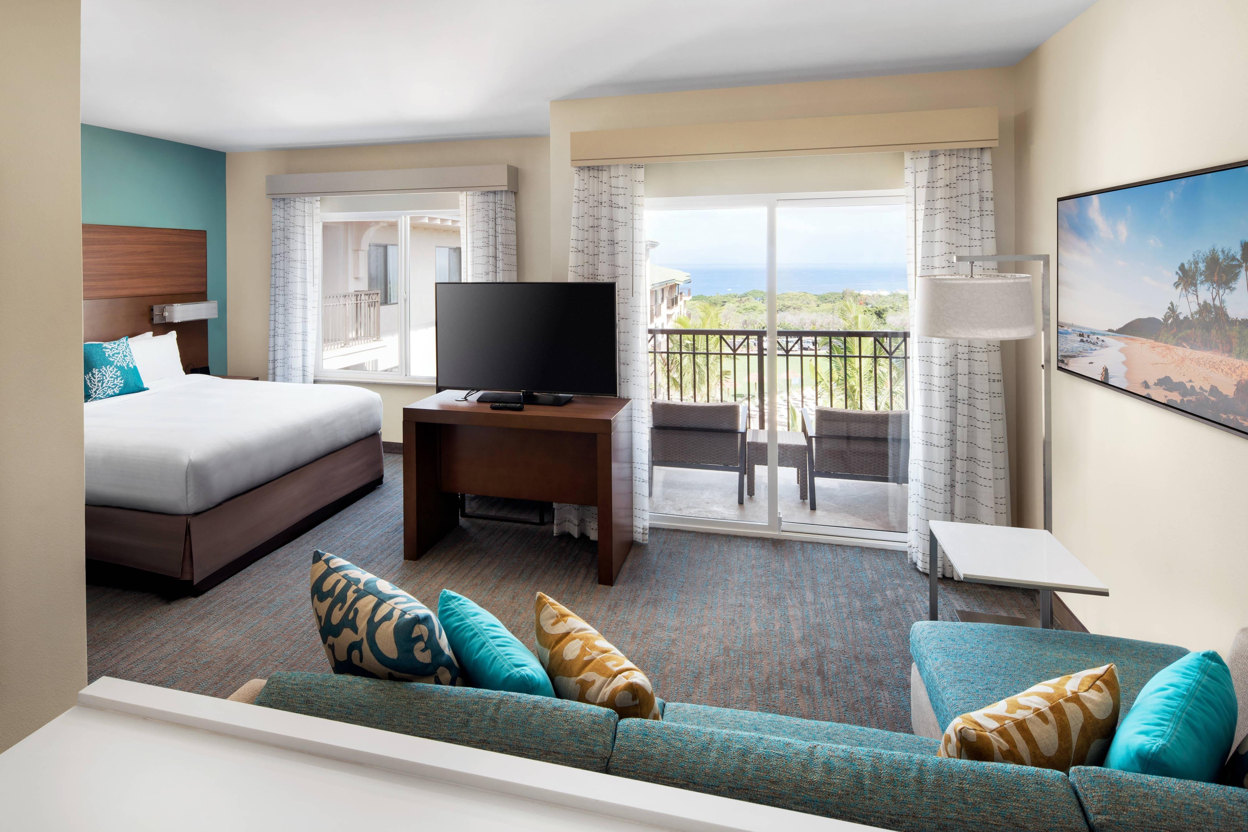 Suite estudio King con vista al mar