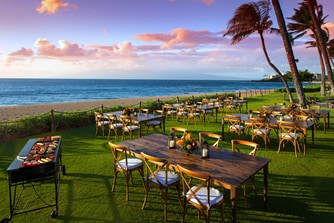 BBQ on Ka anapali Beach