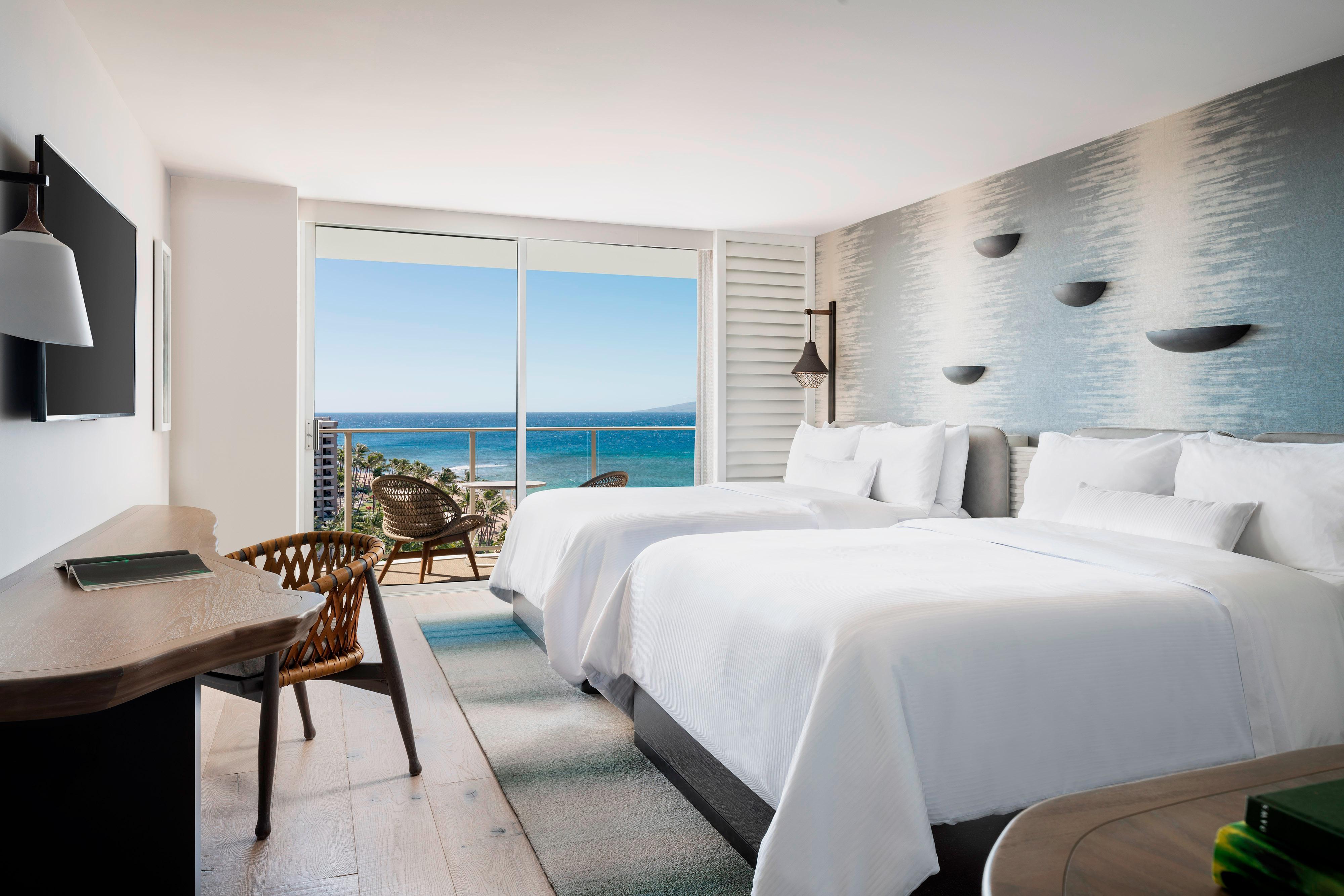Luxury Ocean View Double Queen Room