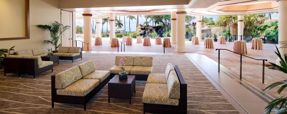 Aloha Pavillon Innenbereich