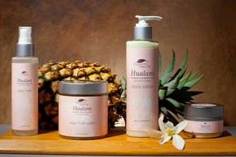 Hualani Spa Products