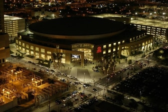 Toyota Center cerca del hotel en Houston