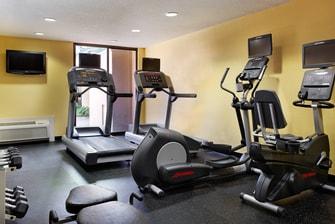 gimnasio del hotel en Houston