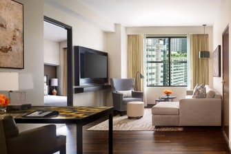 Suite de lujo del JW Marriott Houston Downtown