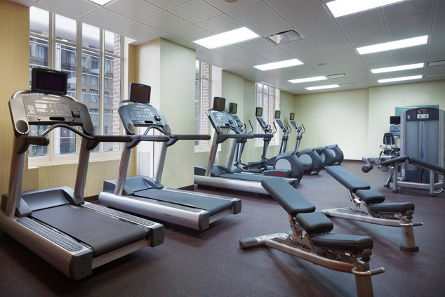 Downtown Houston Hotel with Gym