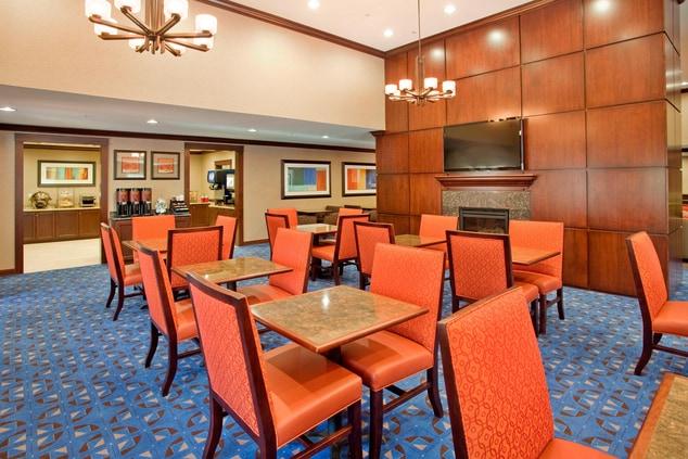 West Houston Hotel Breakfast Area