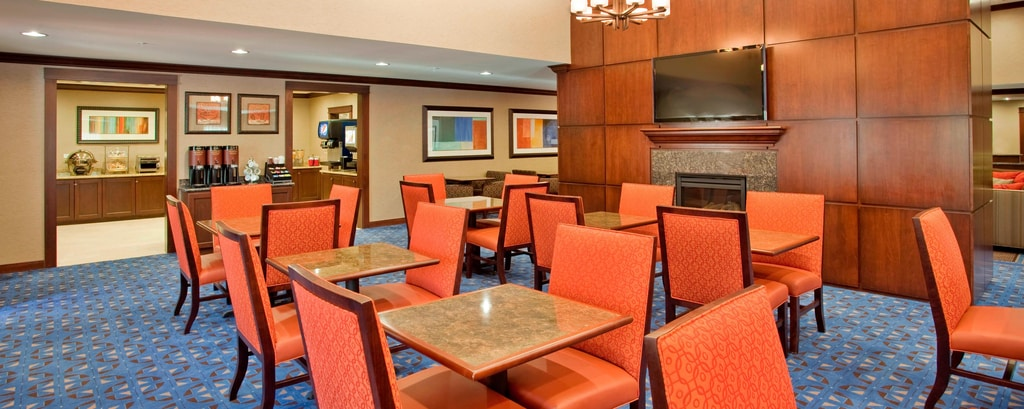 West Houston Hotel Breakfast Area
