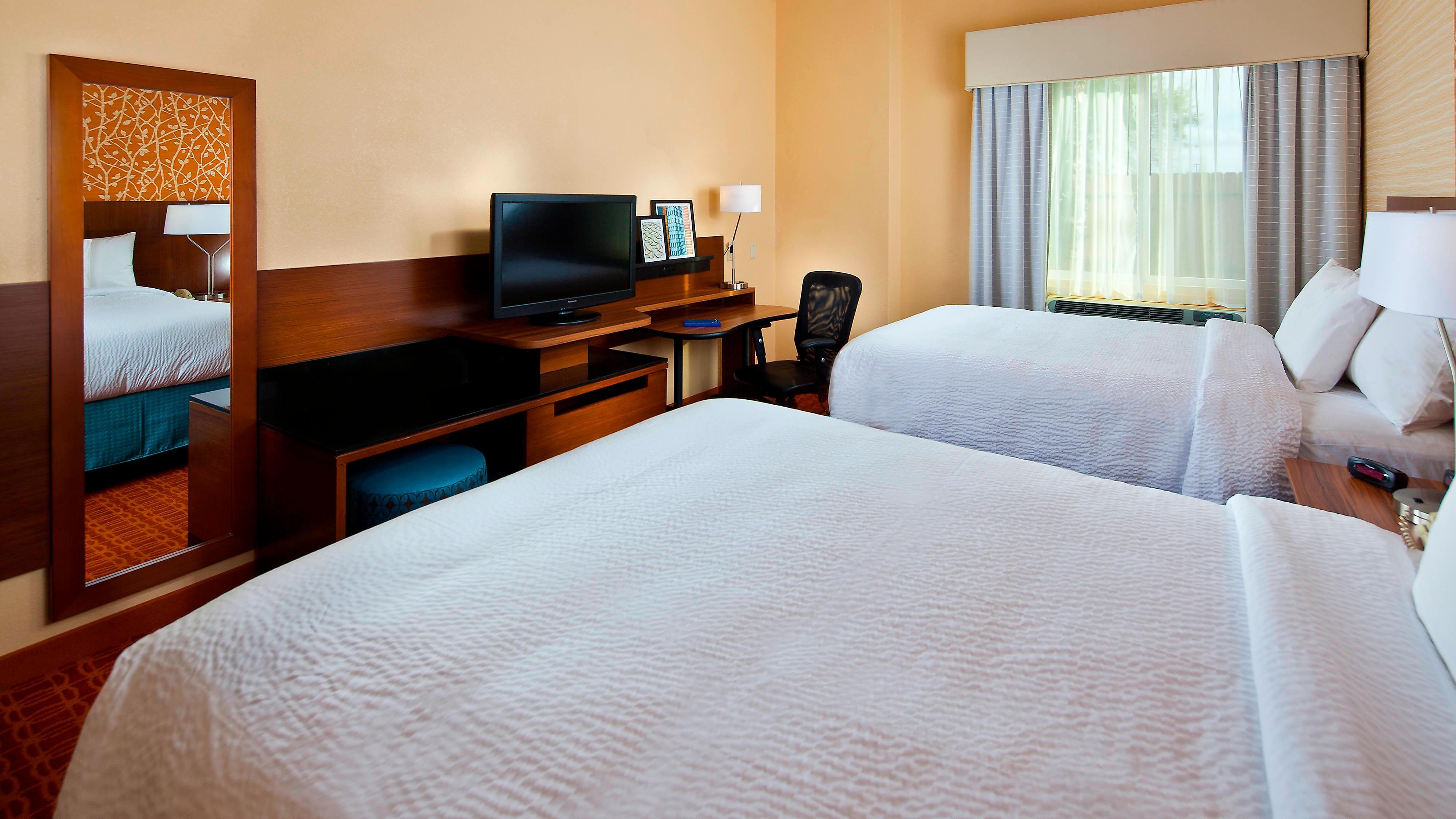 Gästezimmer mit Queensize-Bett in Houston, Texas