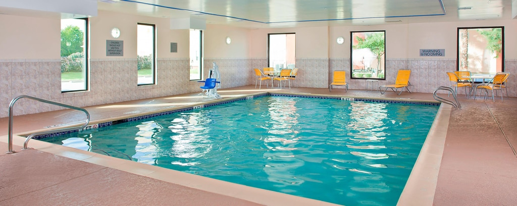 Indoor Pool Hotel at Hobby Airport