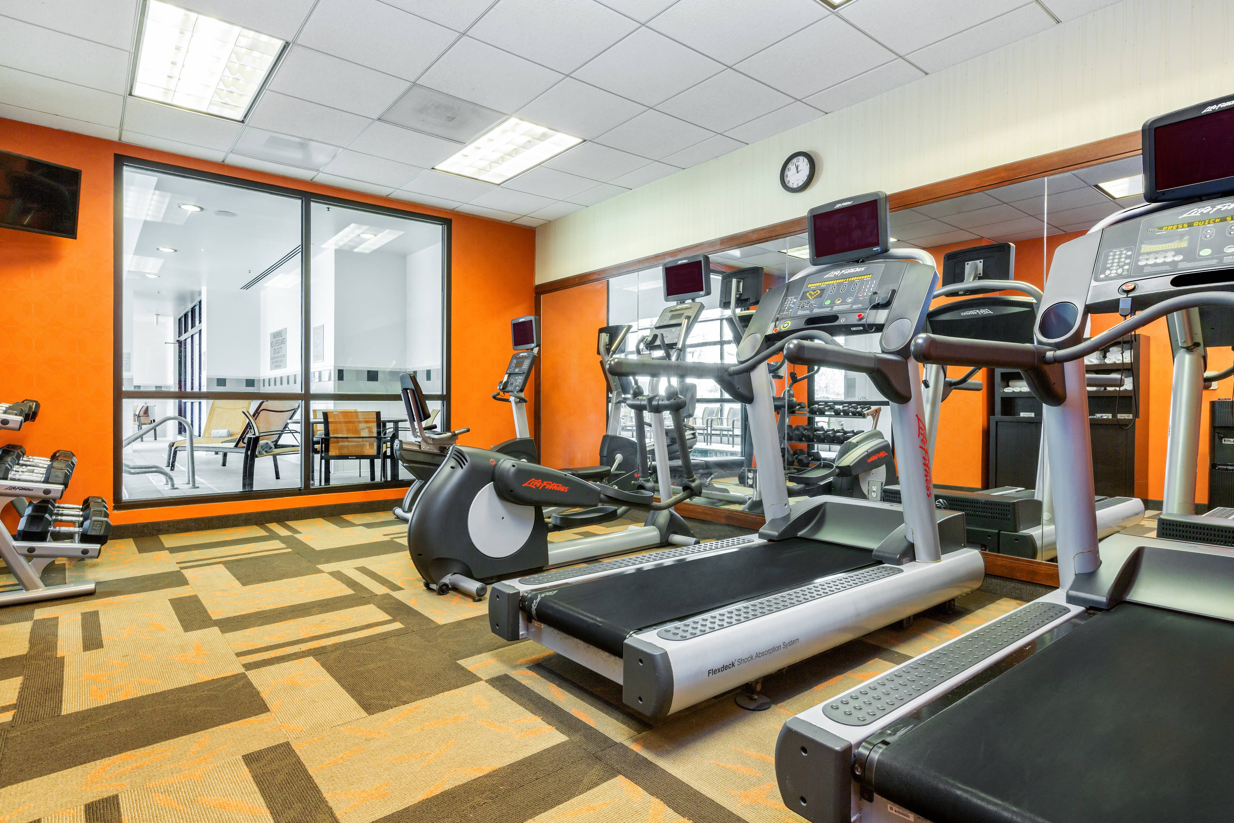 Houston Galleria Hotel Gym