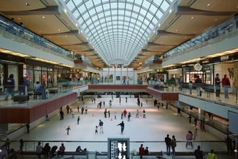 The Galleria Ice Skating Rink