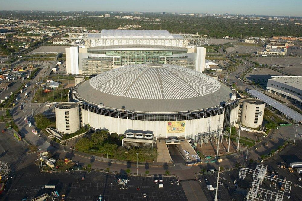 Reliant Stadium near Marriott Hotel
