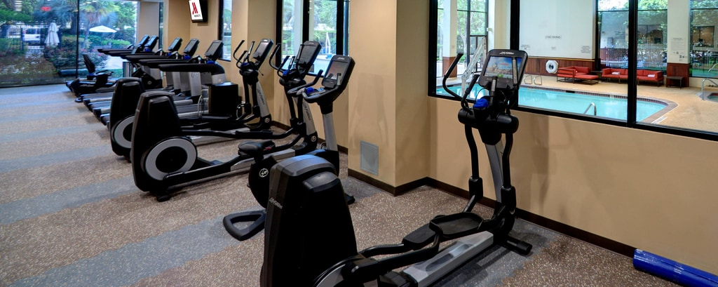 Hotel con gimnasio en Houston