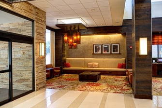 North Houston Hotel Lobby