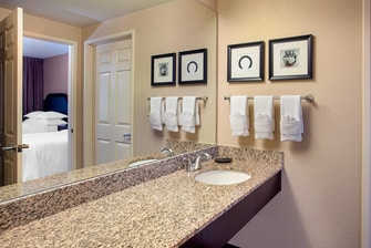 Suite Dressing and Vanity Area