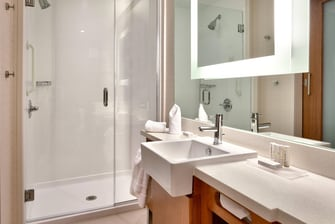 SpringHill Suites Houston North Guest Bath/Shower