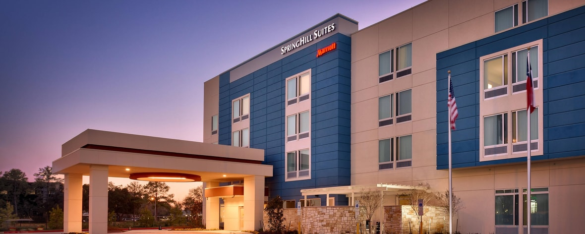 Houston Tx Hotels Springhill Suites Houston I 45 North
