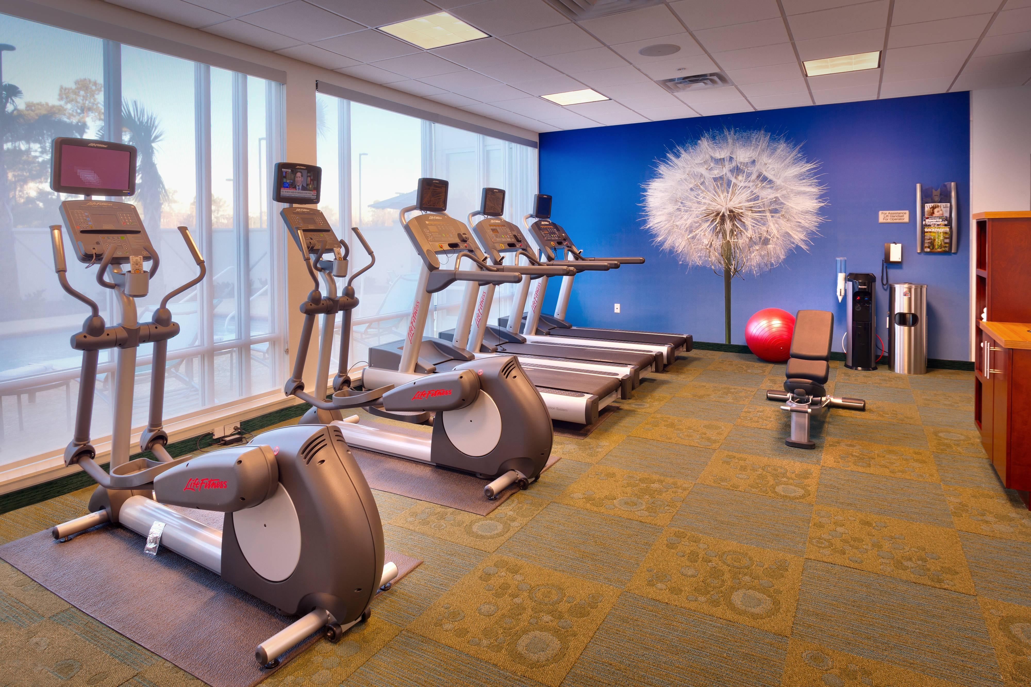 Gimnasio del SpringHill Suites Houston I-45 North
