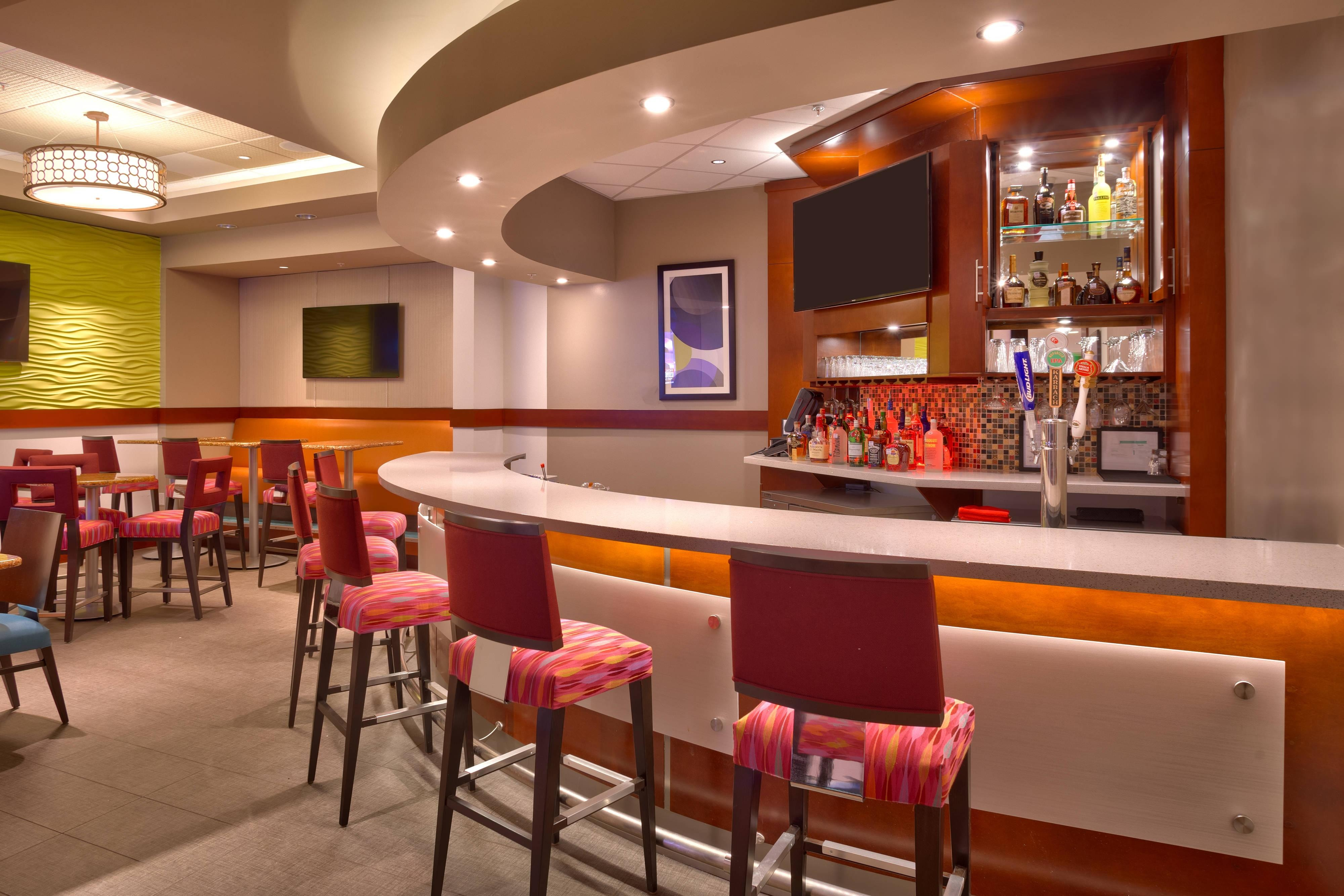 Bar del SpringHill Suites Houston I-45 North