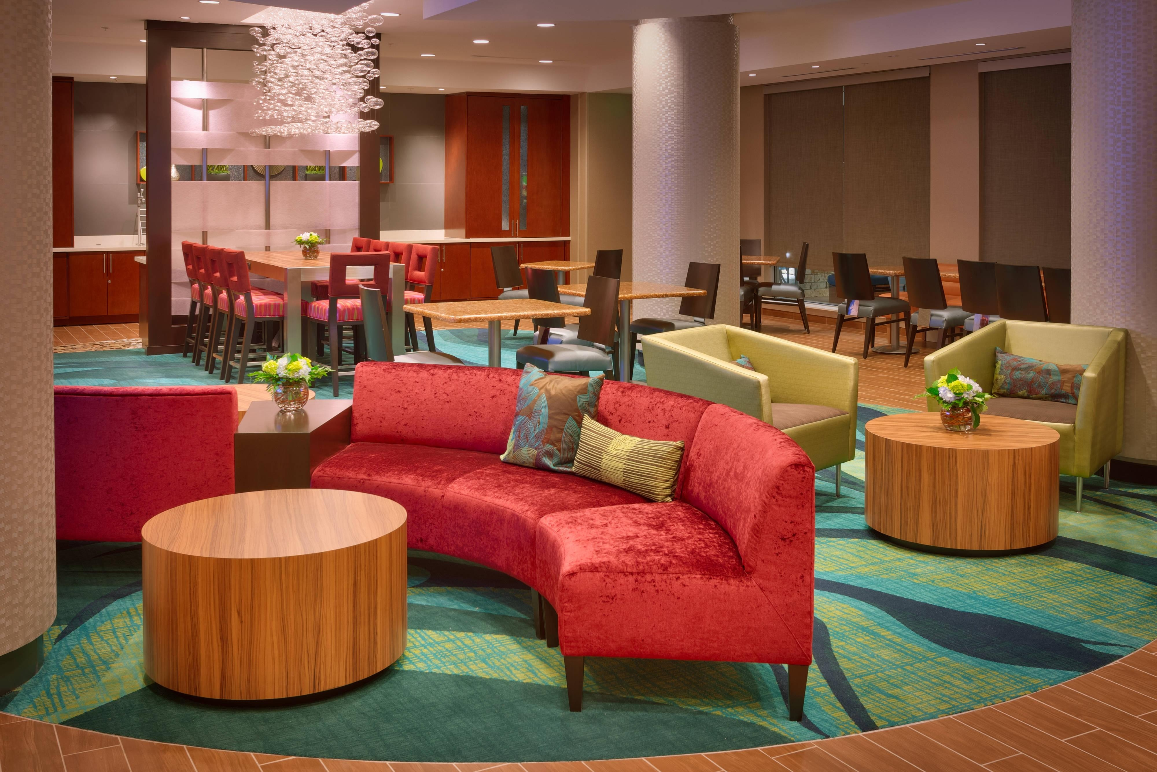 Lobby del SpringHill Suites Houston I-45 North