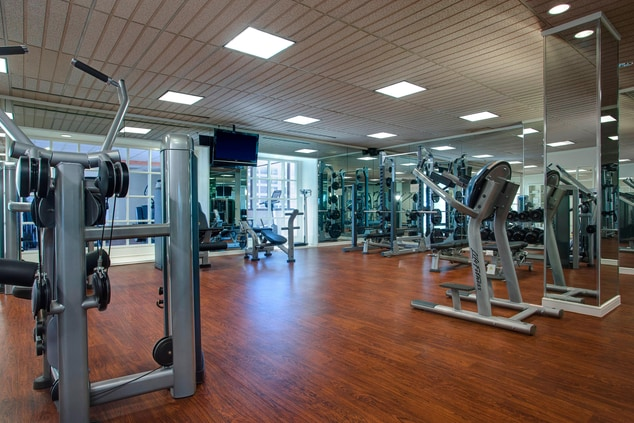 hotel workout facility