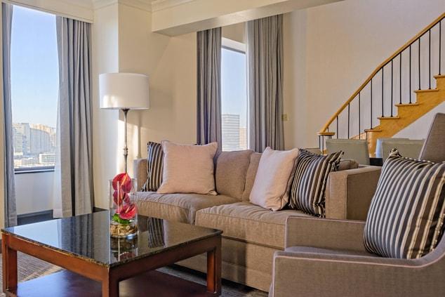 Houston Galleria Hotel Presidential Suite