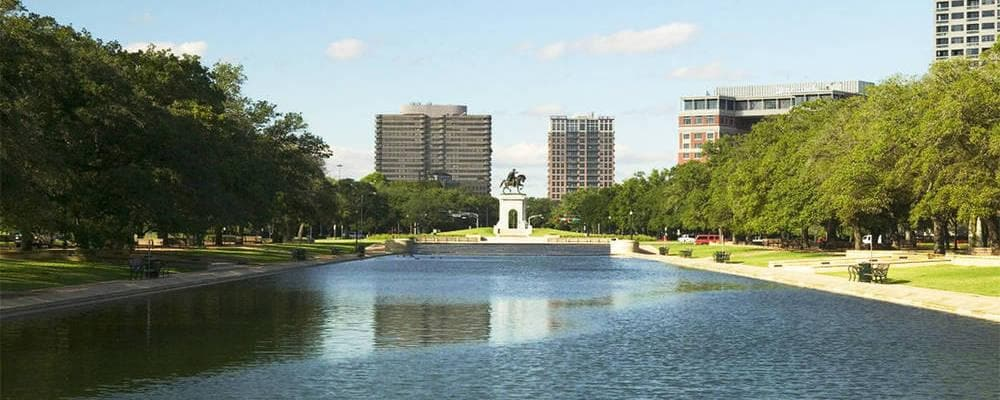 Hermann Park - Jones Reflection Pool