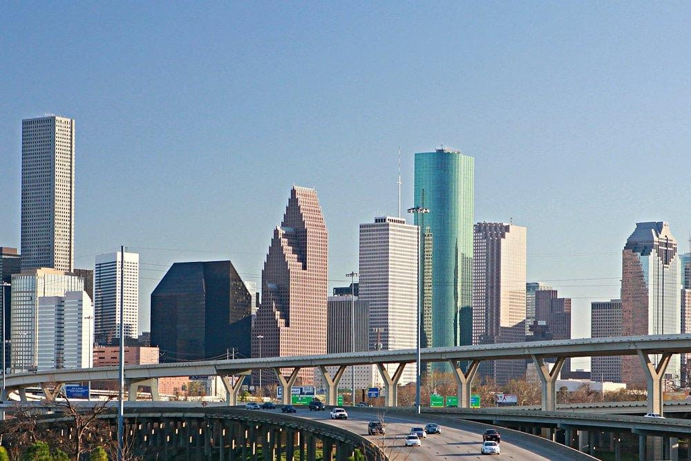 Downtown Houston Texas Skyline