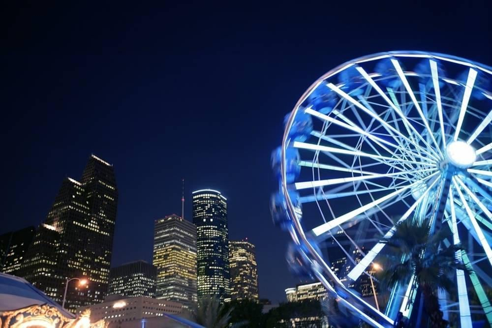 Downtown Houston Ferris Wheel