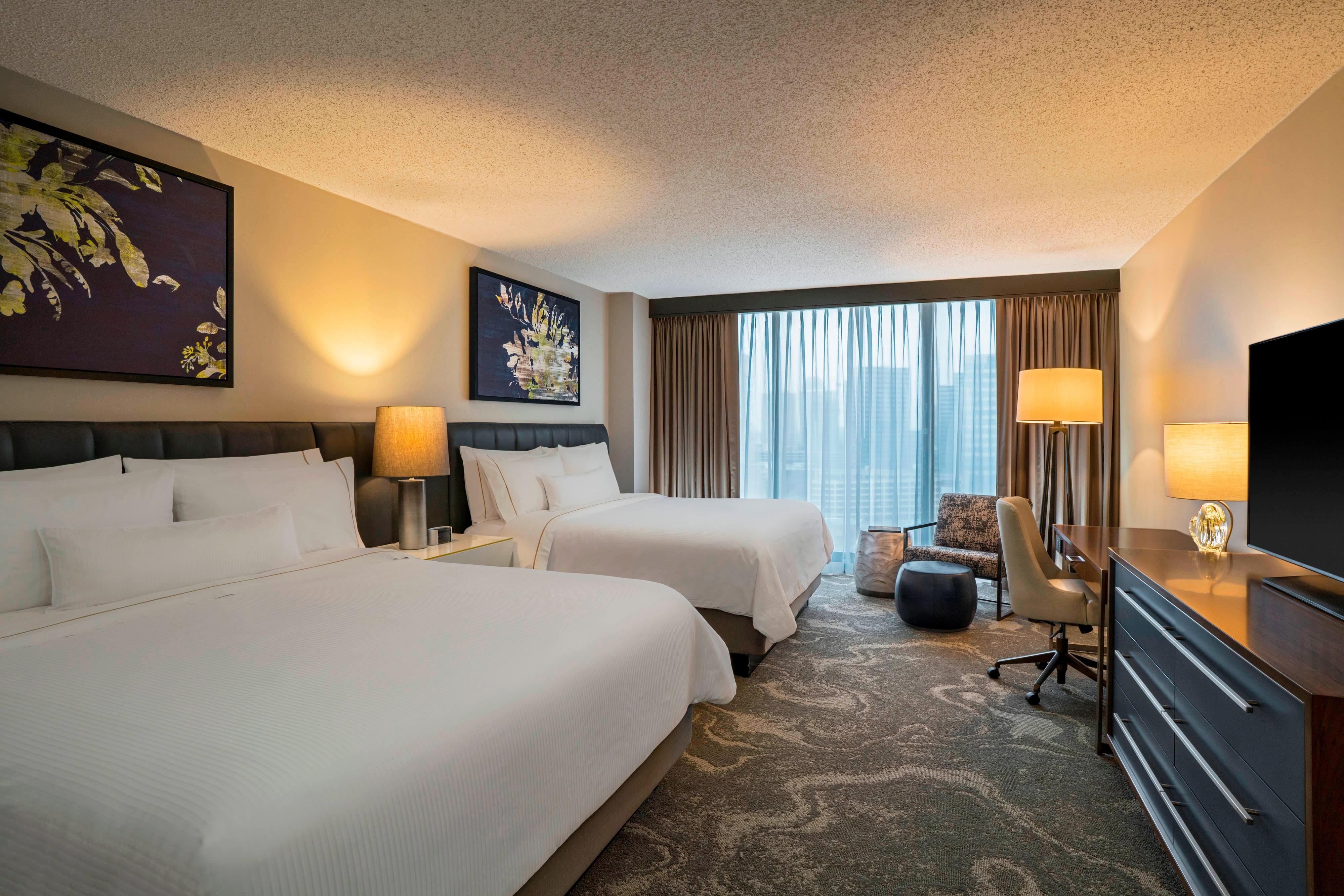 King Deluxe Double Guest Room