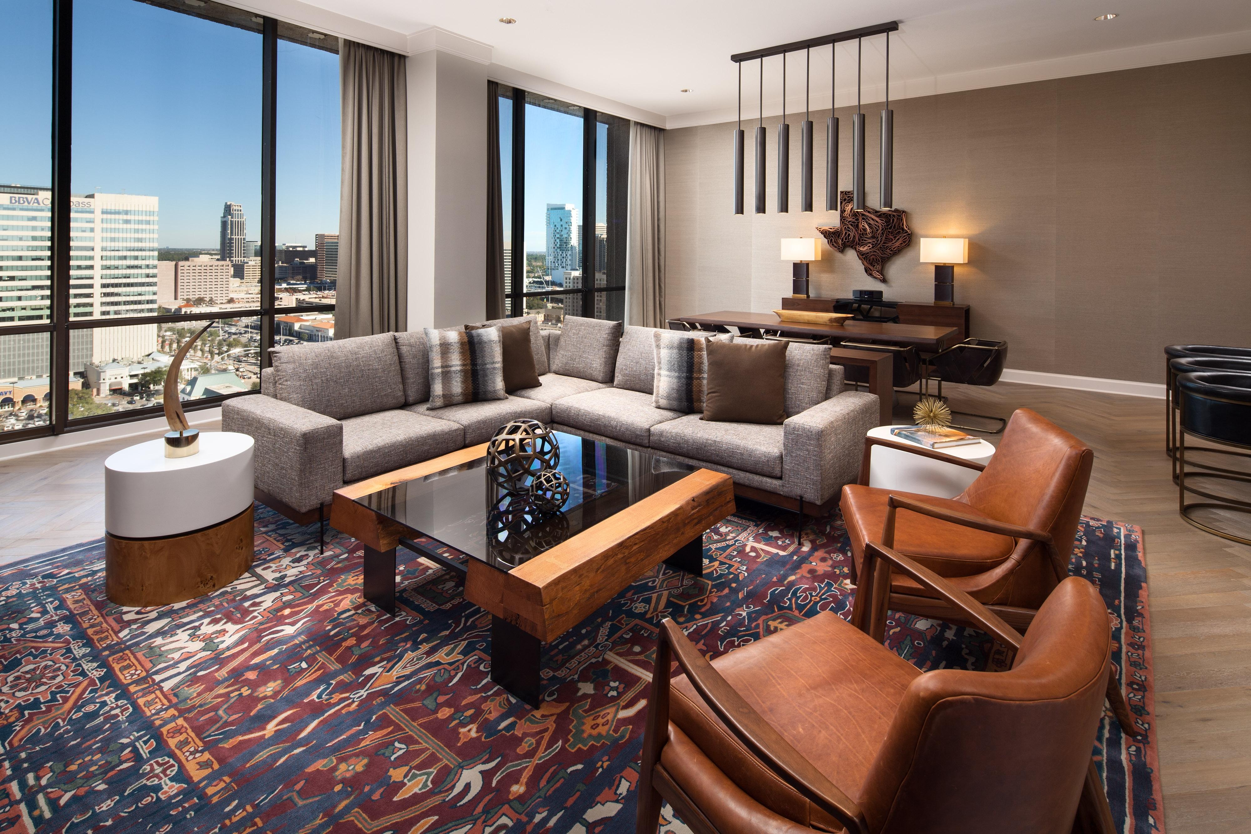 Texan Luxus Suite– Wohnzimmer