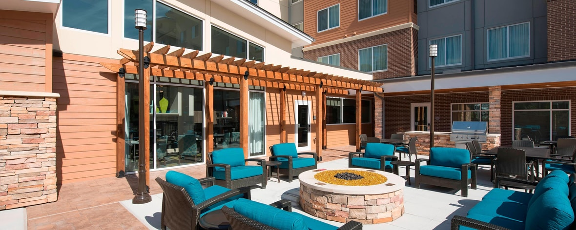 Residence Inn Houston Springwoods Village - patio