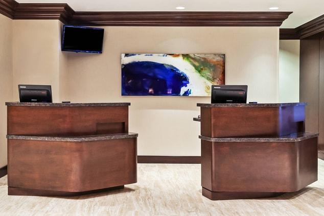 Houston Hotel Front Desk Lobby