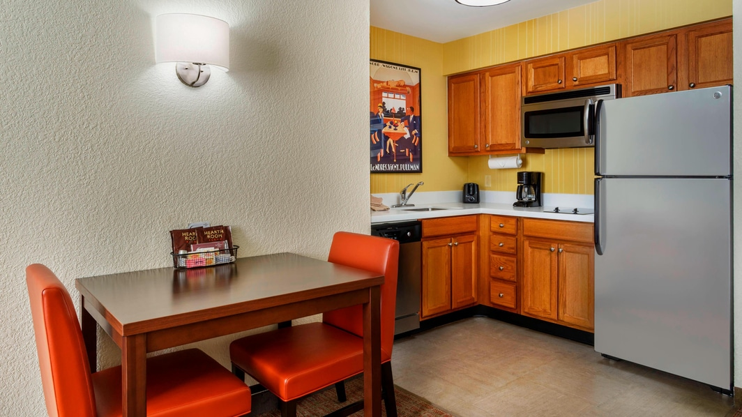 Houston Hotel Suite Kitchen