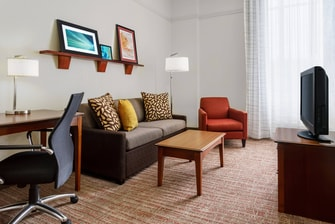 Suite del hotel en el centro de Houston