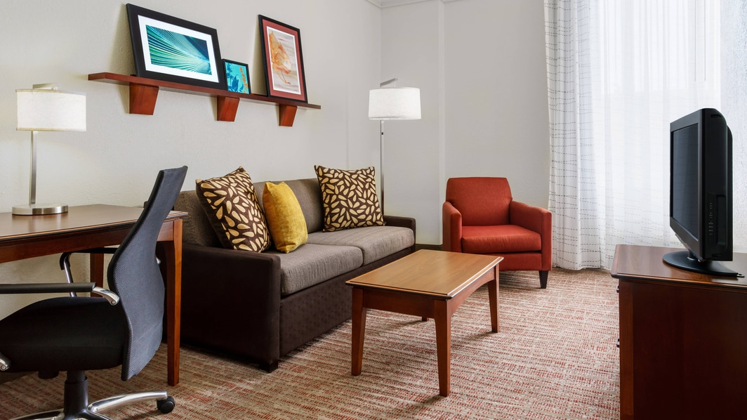 Downtown Houston Hotel Suite