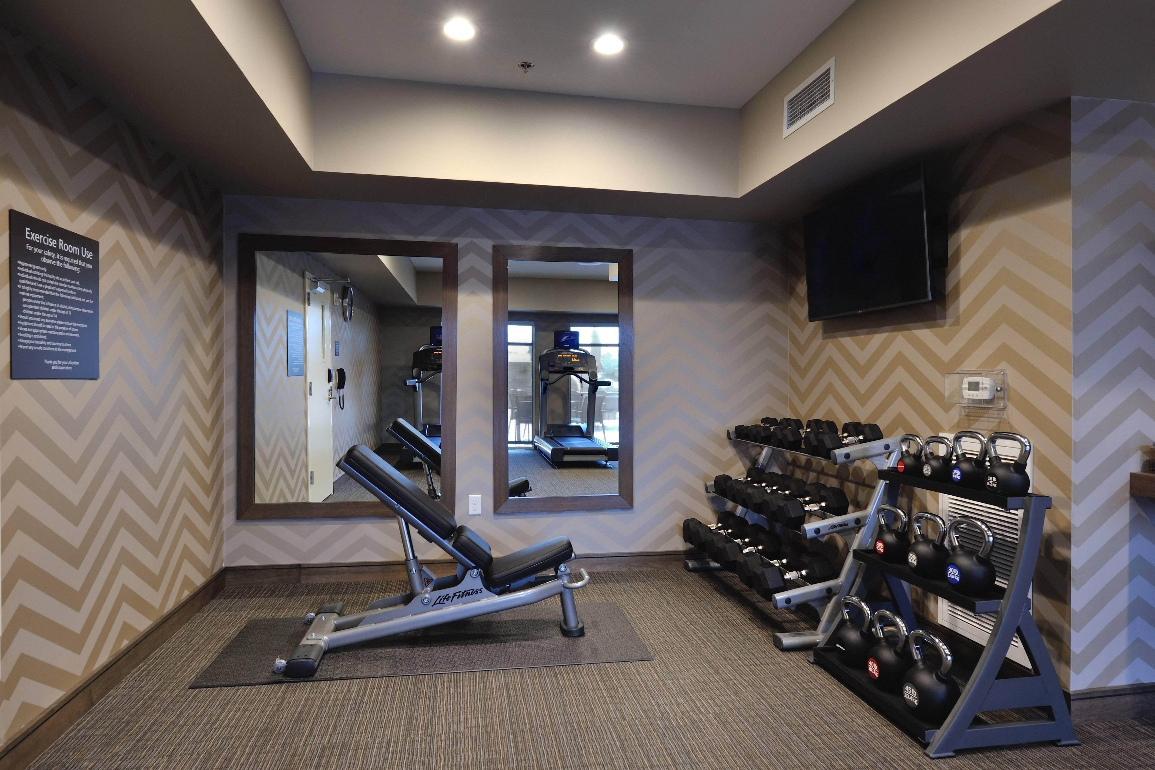 Northwest Houston Fitness Room