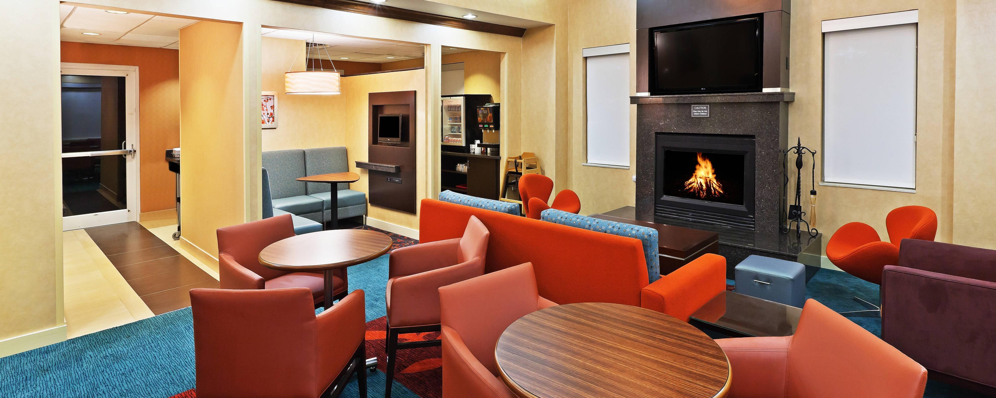 Lobby im Residence Inn