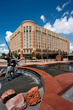 Sugar Land Marriott Town Square Entrance