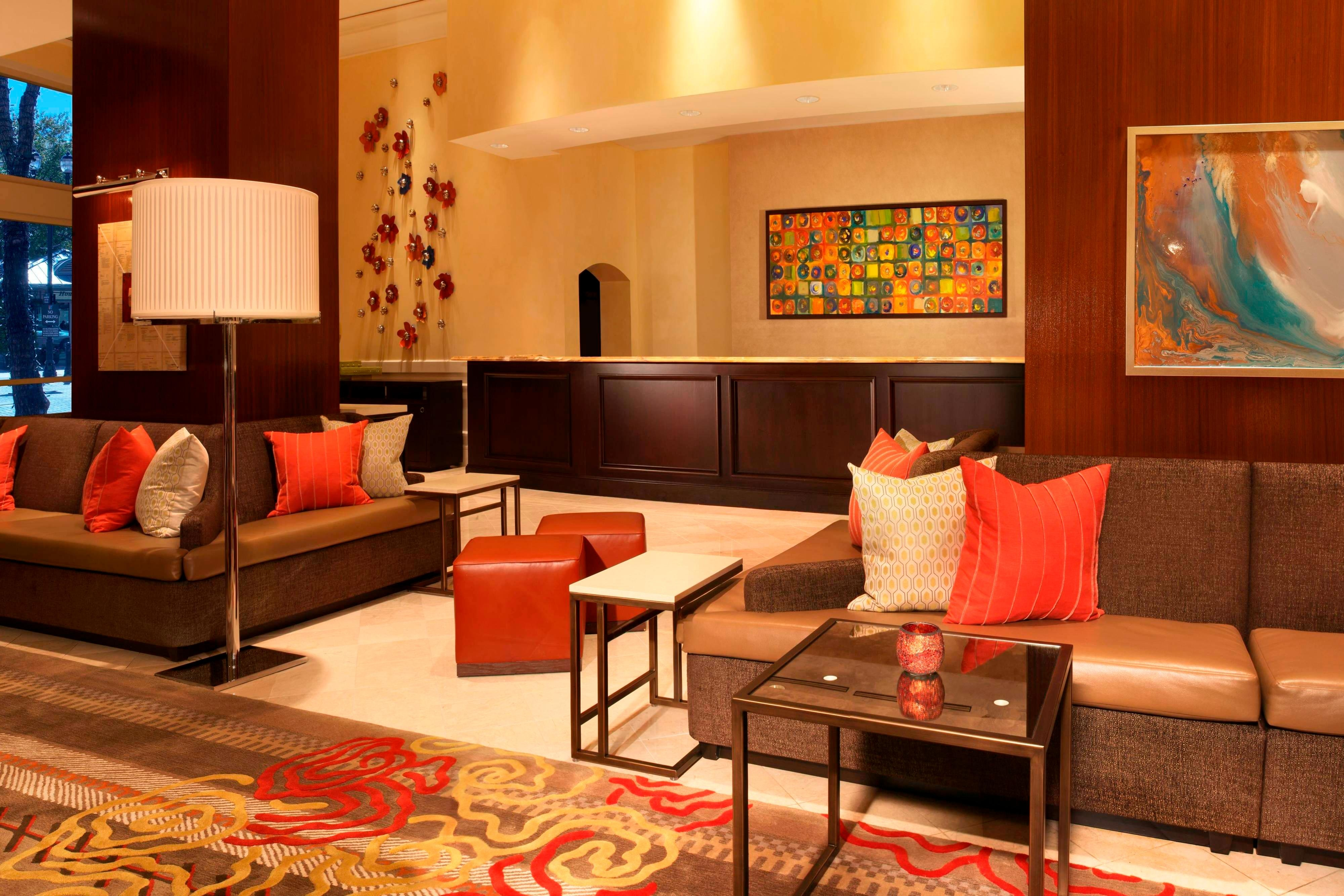 Sugar Land Marriott Front Desk