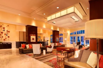 Sugar Land Marriott Lobby