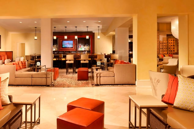 Sugar Land Marriott Lounge