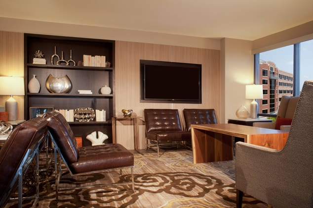 Houston marriottl with executive lounge