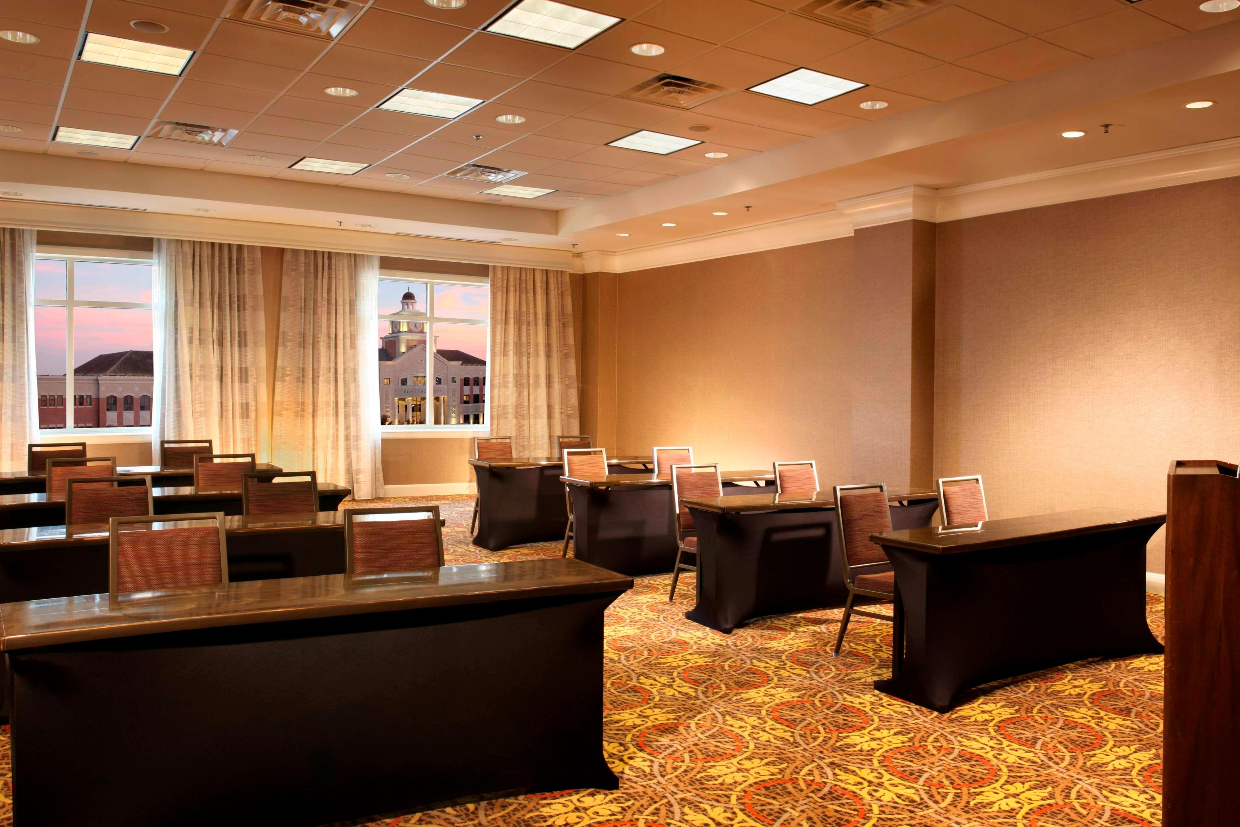 Sugar Land Marriott Meetings