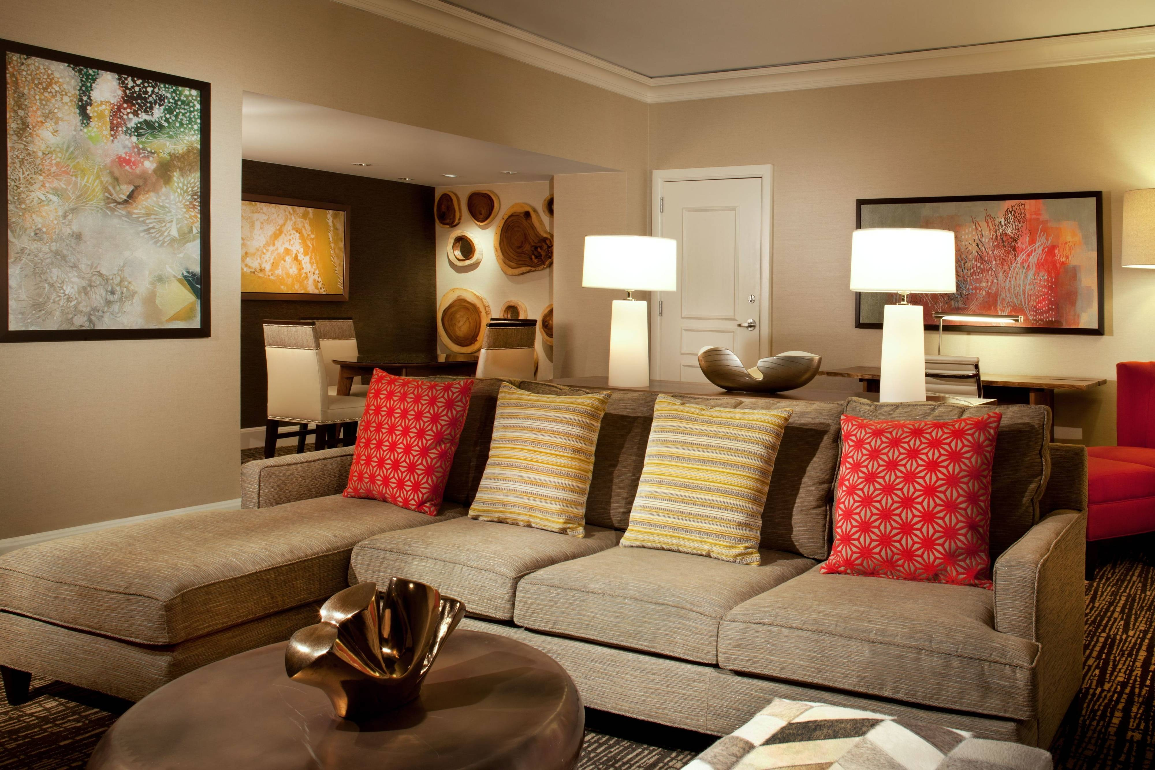Ambaassdor Suite - Living Area