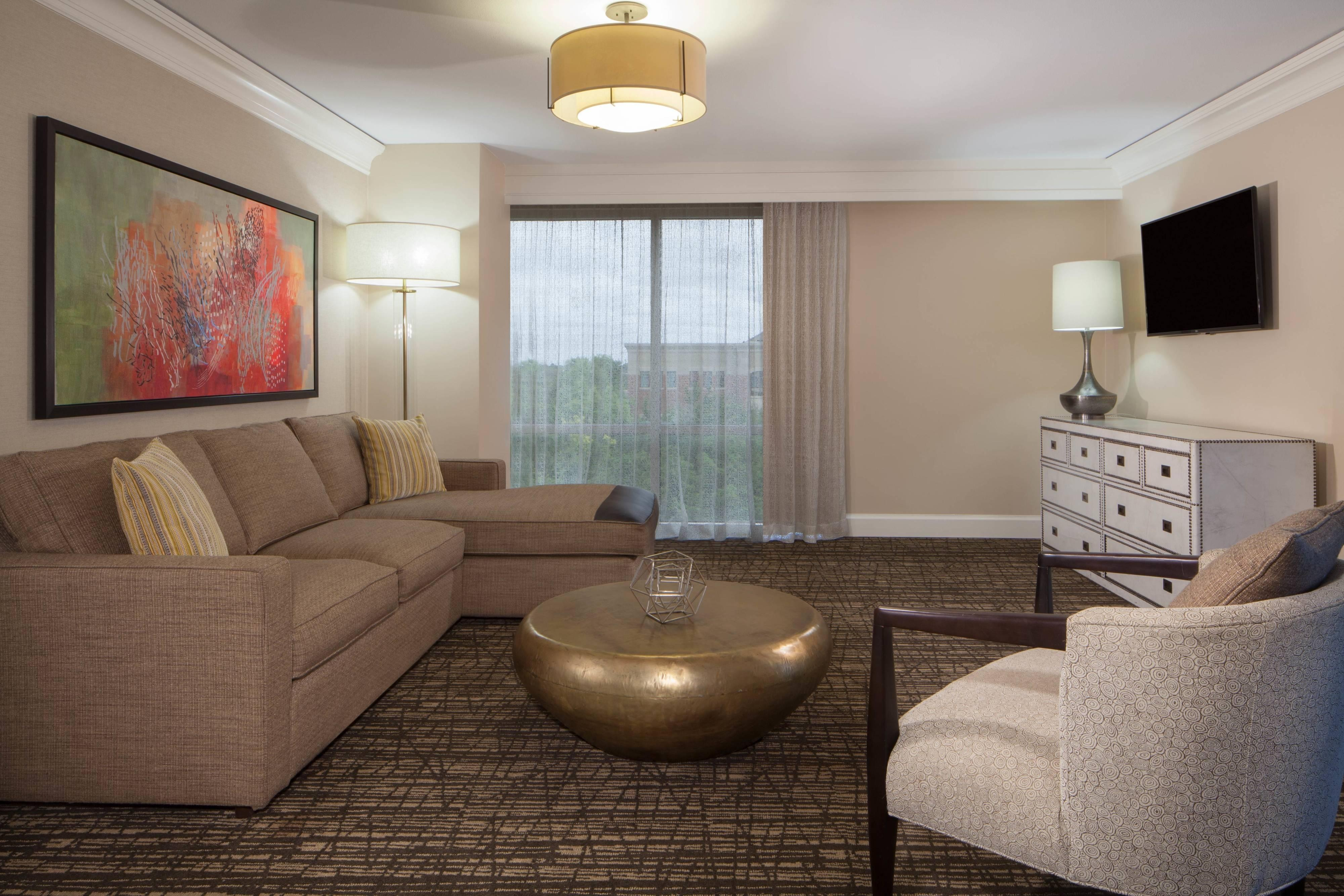 Plaza Suite - Living Room